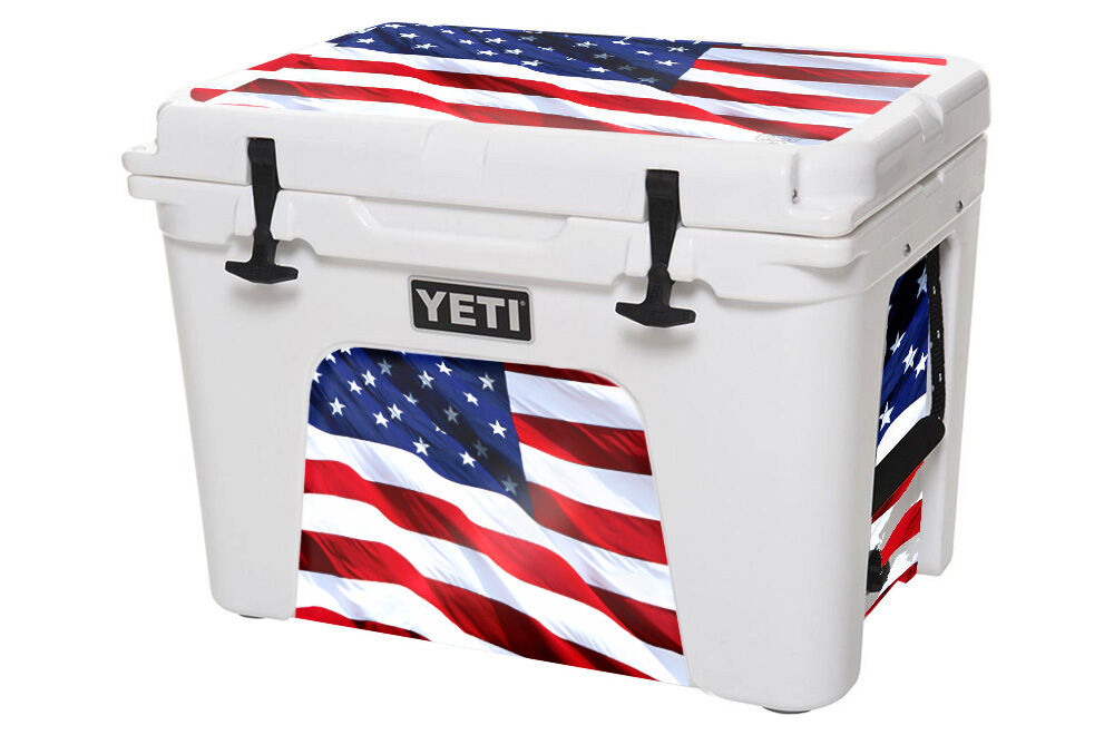 USATuff Custom Cooler Decal Wrap fits YETI Tundra 110qt L+I USA Stars Farbe
