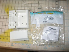 Off White Panduit T70PGIW Rectangle 1-Gang 1-Port Electrical//Communication Faceplate