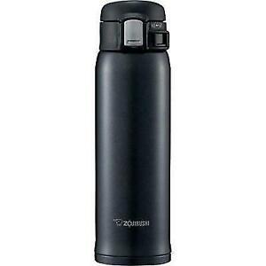 Zojirushi SM-SD48-BC Stainless Thermos Mug Bottle 0.48L 16 oz Silky Black New