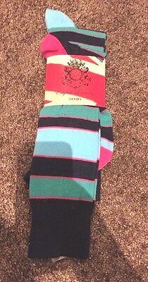 2 Pairs Cornerstone Soccer Socks  Size Large 10-13 Orange NEW