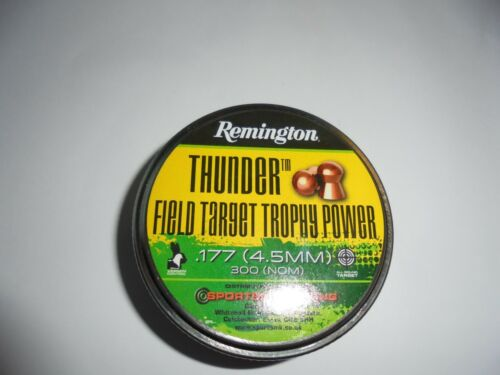 REMINGTON Field Target trophey Power .177 4.5 mm airifle PELLET X 100 Pacco Campione
