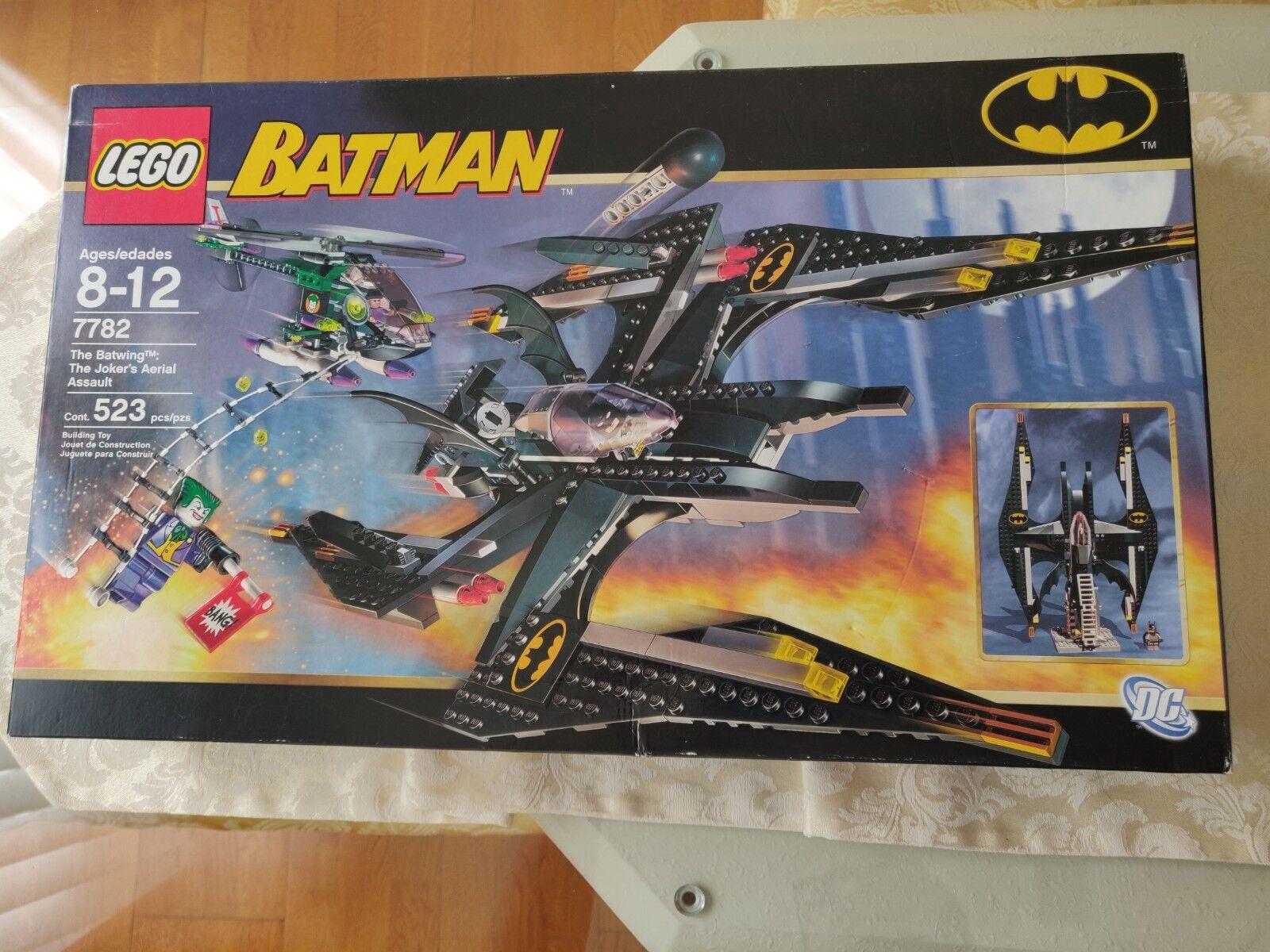Lego Batman The Batwing: The Joker's Aerial Assault (7782) New SEALED MISB
