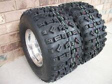 (2) Tire Wheel Rim Kit 6 Ply Rear 22X11-9 Yamaha Warrior Raptor 660 700 YFZ450