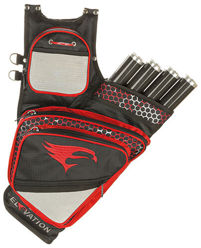 Elevation Adrenalin Quiver BlackRed 4 Tube Right Hand