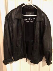 Kenneth Cole New York Mens Bomber Jacket