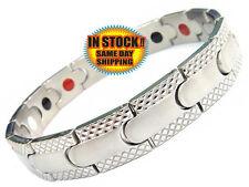 Magnetic Bracelet Energy Health Bracelet 4in1 Wristband Magnet Healing Jewellery