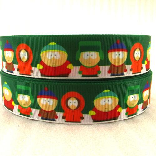 "South Park cinta 1/"" ancho nuevo vendedor Reino Unido Libre P/&P"