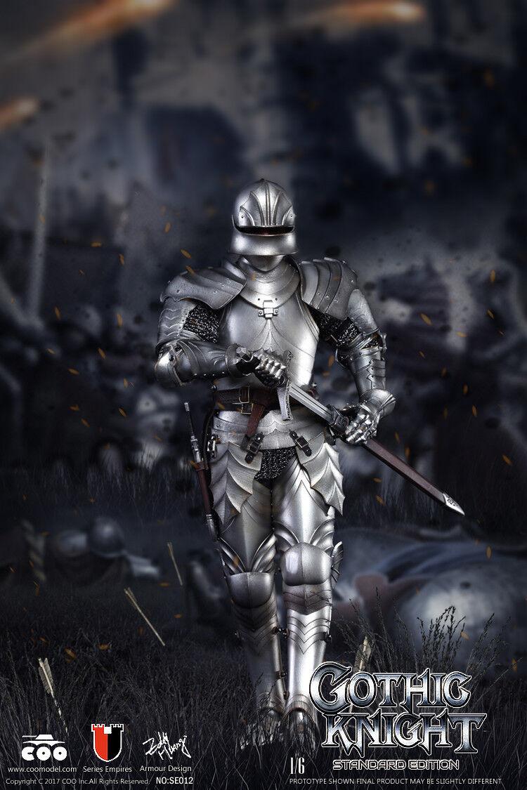 Coomodel Série de Empires Métal Gothique Armure Chevalier Chevalier Chevalier Standard Version 1/6 527726