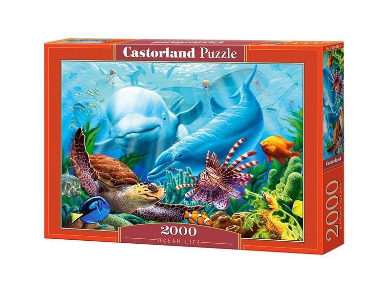 Castorland puzzle 2000 stcke - ozean leben 92 x 68cm 36  x27  versiegelte kiste c-200627