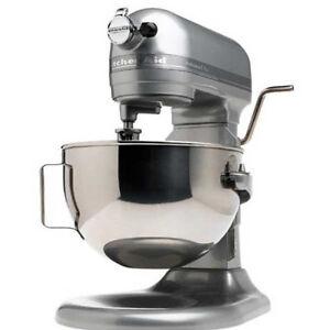 New Kitchenaid Stand Mixer 10 Sp 5 Quart Kv25mexcu Contour