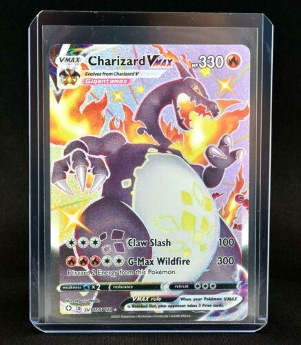 Pokemon Shiny Charizard VMAX Shining Fates Fresh Pull SV207/SV122 NICE!!