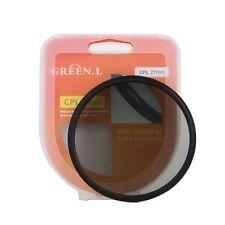 Green.L 49mm 49 mm Circular Polarizing C-PL CPL PL-CIR Filter For Camera DV Lens