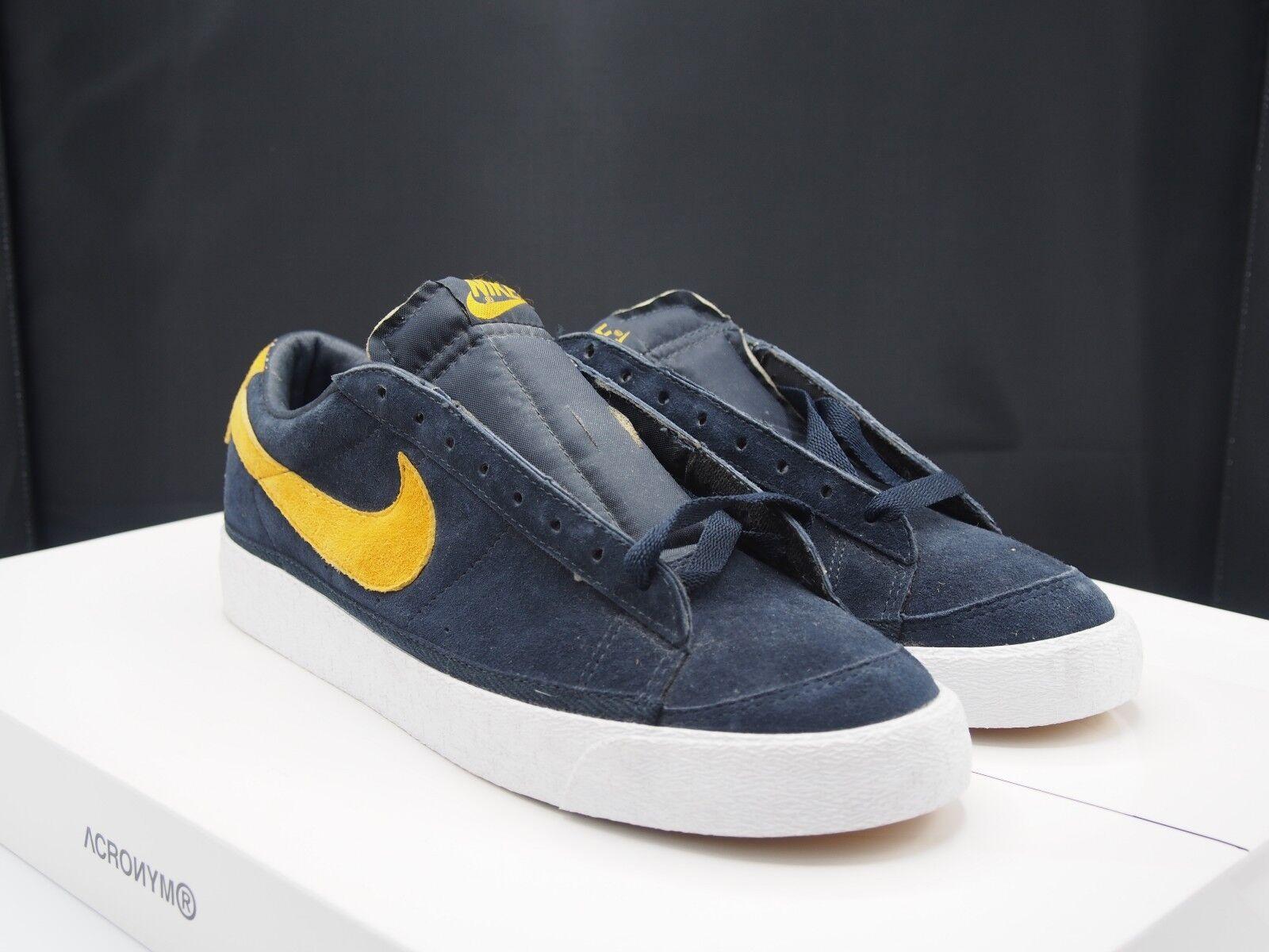 cab6e211500 Nike Blazer Suede Low OG Sol 305415-471 Del Obsidian nxpdai833-Athletic  Shoes