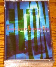 ELTON JOHN'S GREATEST HITS VOLUME III 1979-1987 CASSETTE TAPE  FACTORY SEALED!