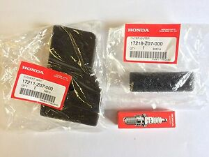 Air Filter Spark Plug Tune Up Maintenance Kit Fit for Honda EU2000i Generator