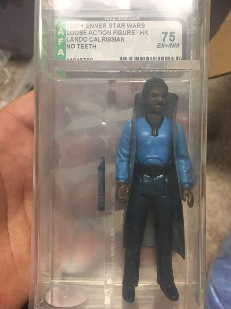 1980 Kenner Star Wars Lando Calrissian (no Teeth) Loose AFA 75