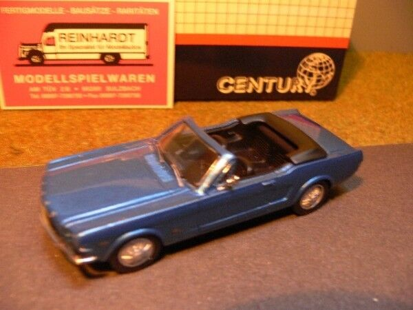 1 43 AMR Century Ford Mustang Convertible bleumetallic 1600