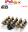 thumbnail 15 - 21pcs lot STAR WARS Clone Trooper Commander Fox Rex Mini toy building block