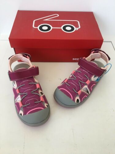 See Kai run girls pink water shoes sandals size 13 new