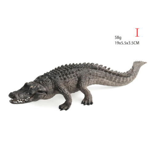 Crocodile Simulation Animal Model Action /& Toy Figures Collection Kids Gift JRDR