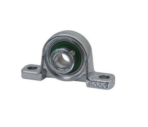 Up002 15mm UP BORE 2 Bullone Alluminio Cuscino Blocco con blocco ECCENTRICO Colletto