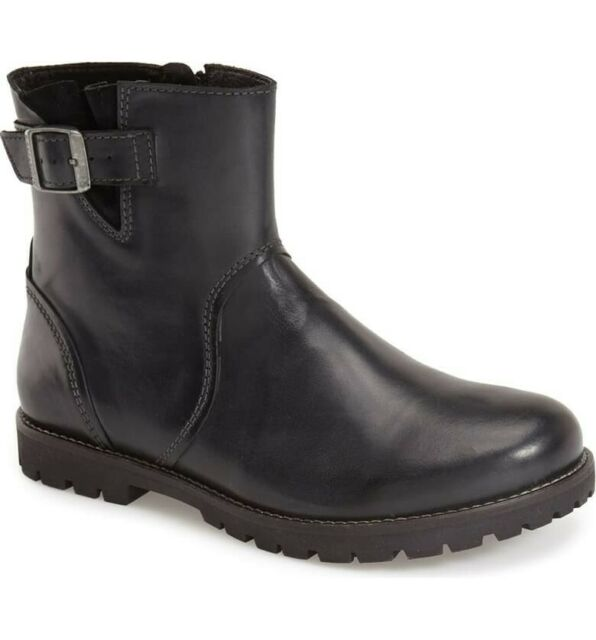 BIRKENSTOCK STOWE LADIES BLACK LEATHER BOOT Sizes 38, 39, 40 available