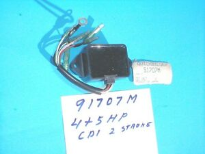 Power pack mariner yamaha 1980s 4 5 hp outboard switch for Yamaha outboard cdi box