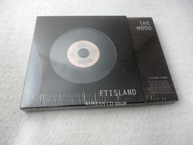 FTISLAND 5th Mini Album - The Mood cd+ FREE GIFT SEALED