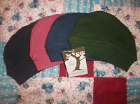 0-12m 100% Organic Cotton Kate Quinn Thermal Baby Cap Hat Pink Green Blue Purple