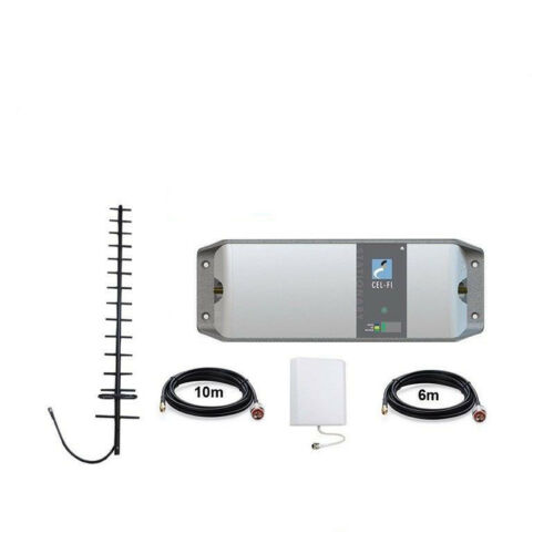 CELFI GO PHONE SIGNAL REPEATER FOR TELSTRA BUILDING INDOOR OUTDOOR YAGI PACK
