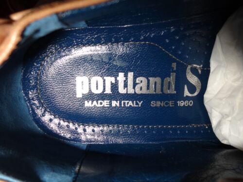 Box stringate marrone Scarpe New 7 di chiaro pelle in Uk taglia Eu 41 uomo In Portland ZrOInrd4q