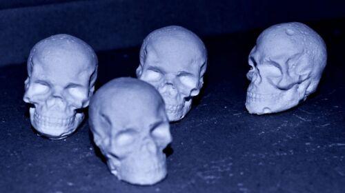 50 mini crâne réactive Shooting Targets, Air-Fusil BB Pistolet airsoft, craie