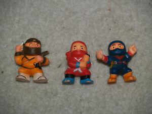 1986 Soma Ninja Figures - 3 Figures-afficher Le Titre D'origine Nettoyage De La Cavité Buccale.
