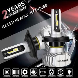 2x-NOVSIGHT-H4-9003-LED-Headlight-Dual-Hi-Lo-Kit-Bulb-10000LM-White-Super-Bright