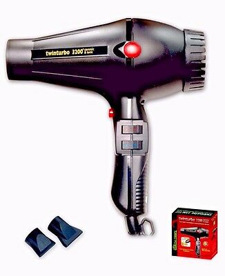 TURBO POWER TWINTURBO 3200 PROFESSIONAL IONIC DRYER WITH COLD SHOT MADE N ITALY   eBay