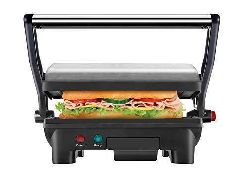 Commercial Sandwich Maker Panini Press Grill Nonstick Toaster Sandwich Gill SUS