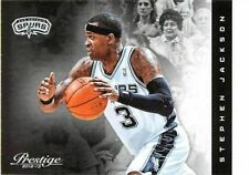 2012 -13 Panini Prestige #78 Stephen Jackson San Antonio Spurs NM NBA Single