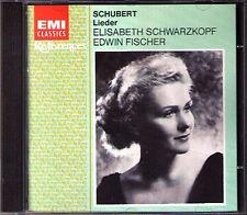 Elisabeth SCHWARZKOPF: SCHUBERT Lieder An die Musik EDWIN FISCHER 1952 EMI CD