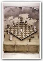 Fantasy Poster Folded Chess Set