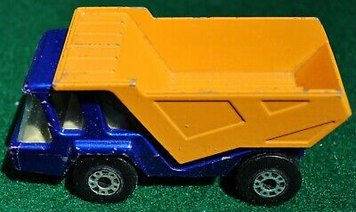 Details about  /Vtg 1975 Matchbox Superfast #23 ATLAS Dump Truck Lesney DieCast Toy Car JL