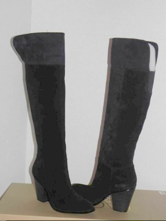 bellissima Rachel Roy Roy Roy nero Suede Over the Knee High stivali 8.5  molte concessioni