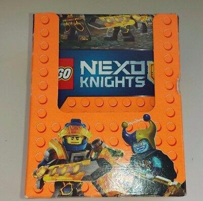 LEGO Nexo Knights Sammelalbum NEU OVP 1 Display mit 50 Stickertüten