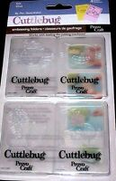Cat Cuttlebug Embossing Folder Set 4 Pack 37-1236