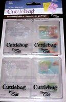 Cat Cuttlebug Embossing Folder Set 4 Pack 37-1236
