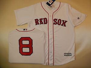 7310 MAJESTIC Boston Red Sox CARL YASTRZEMSKI  8 SEWN Cool Base ... 8f3112e8416