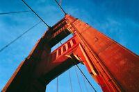 Golden Gate Bridge Poster Style B 24x36 Hi Res