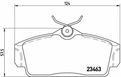 Brake Pads Set fits NISSAN ALMERA N16 Front 1.5 1.5D 00 to 06 With ABS ADL New