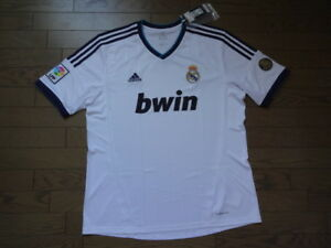 Real Madrid 100% Official Original Jersey Shirt 2012 13 Home XL BNWT ... 3d3a50f5f