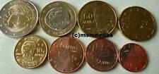 Griechenland 8 Euromünzen 2007 KMS mit 1 Cent - 2 Euro cc Römische Verträge unc