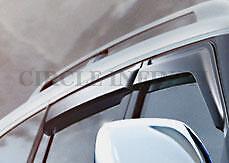 New OEM Infiniti QX56 QX80 Side Window Deflectors